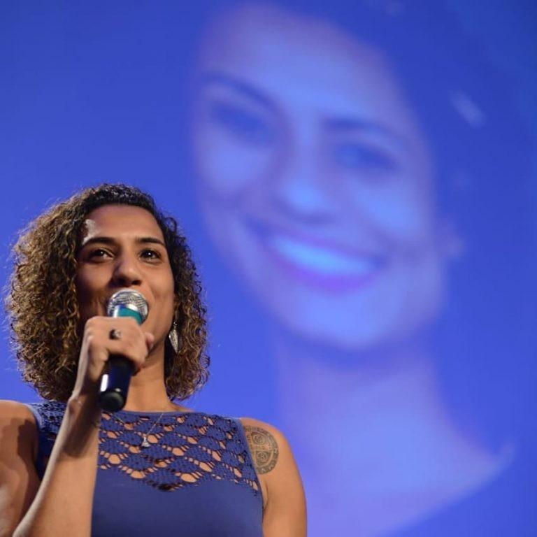 Arielle Franco está escrevendo livro em homenagem à Marielle Franco (Foto: Reprodução / Instagram)