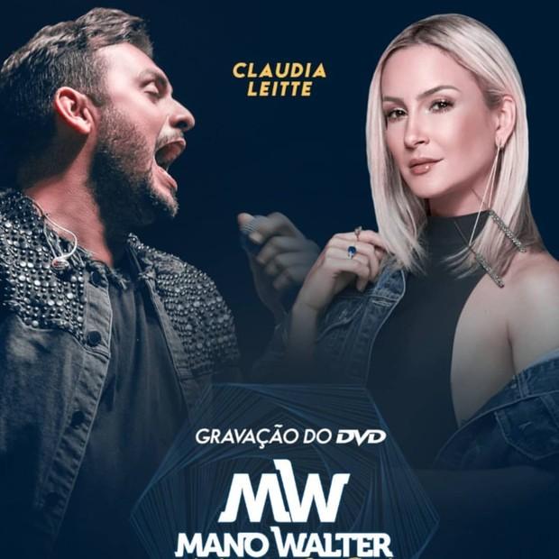 Claudia Leitte e Mano Walter (Foto: Reprodução/Instagram)