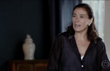 No sábado (11), Griselda vai descobrir que Tereza Cristina sabe o seu segredo Reprodução