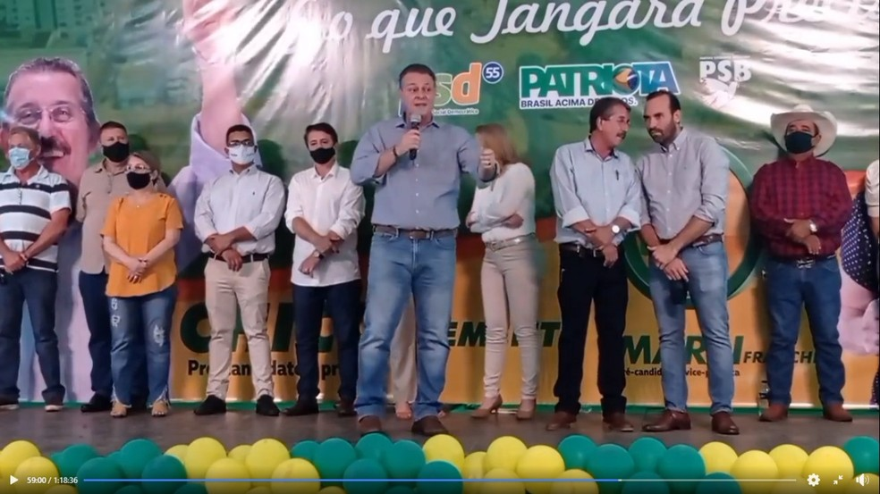 Carlos Fávaro (PSD) é candidato ao Senado — Foto: Reprodução