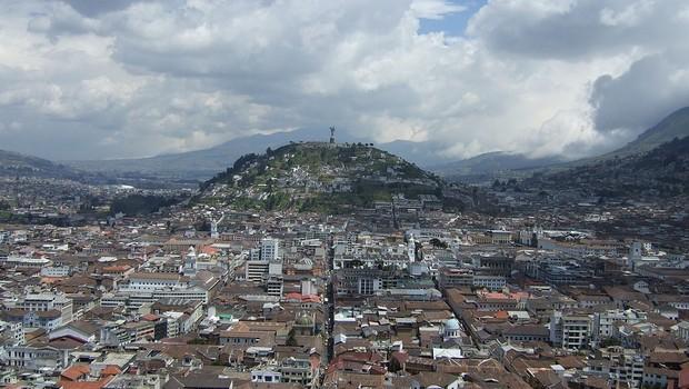 Quito, capital do Equador (Foto: Wikimedia Commons)