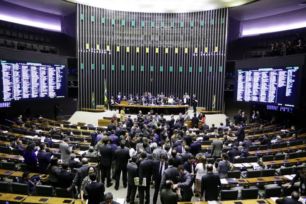 Plenário da Câmara dos Deputados — Foto: Luis Macedo/Câmara dos Deputados