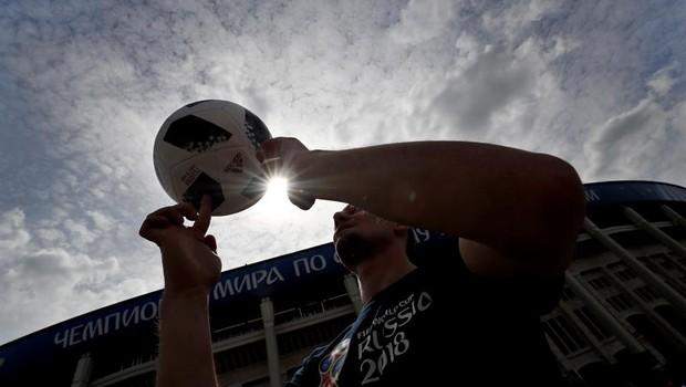 Copa do Mundo - Rússia - 2018 - futebol - Copa - jogo  (Foto:  EFE/EPA/FELIPE TRUEBA)