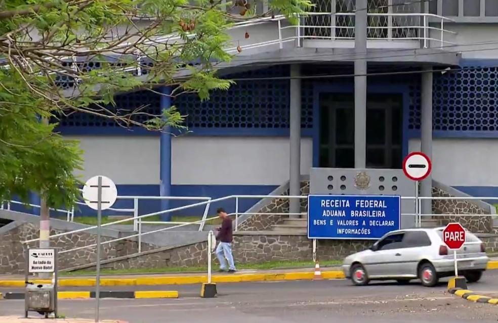 Falta de efetivo é apontado como o problema para a falta de controle nas fronteiras do RS (Foto: Reprodução/RBS TV)