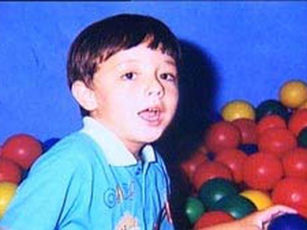 João Hélio foi  assassinado em 2007 — Foto: Álbum de família