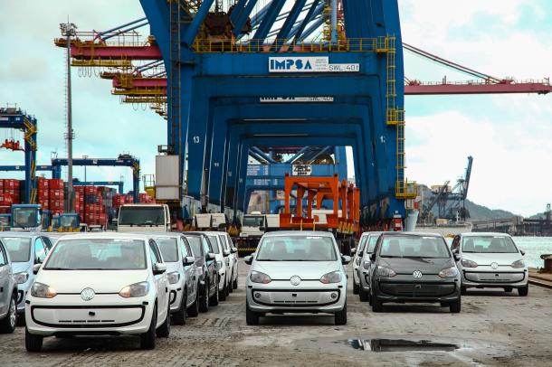 Volkswagen up! começa a ser exportado para o México (Foto: Divulgação)