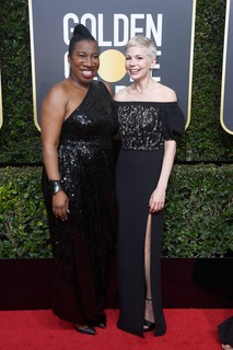 Tarana Burke e Michelle Williams, de Louis Vuitton