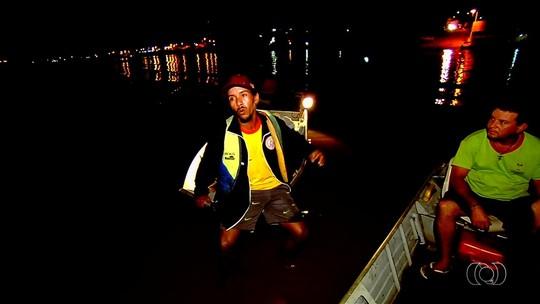 Canoa afunda no Rio Araguaia, e turista relata pânico: 'Todo mundo se desesperou'
