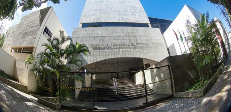 Tribunal Regional Eleitoral do Pará — Foto: Divulgação/TRE-PA