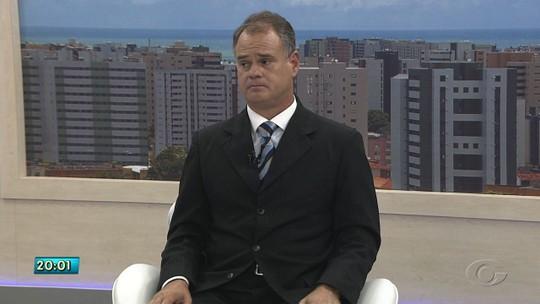 Josan Leite, candidato ao governo de AL, é entrevistado no AL TV 1ª Edição