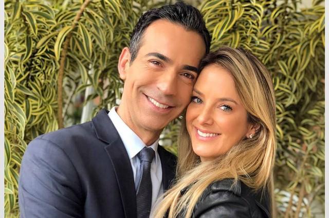 Ticiane Pinheiro e o marido, Cesar Tralli (Foto: Reprodução)