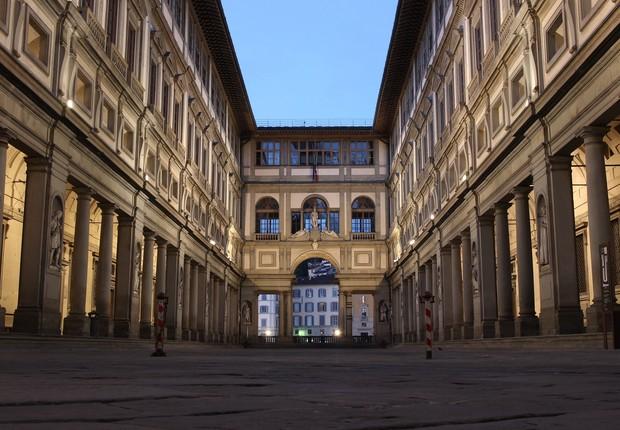 Gallerie degli Uffizi, em Florença (Foto: Pixabay)