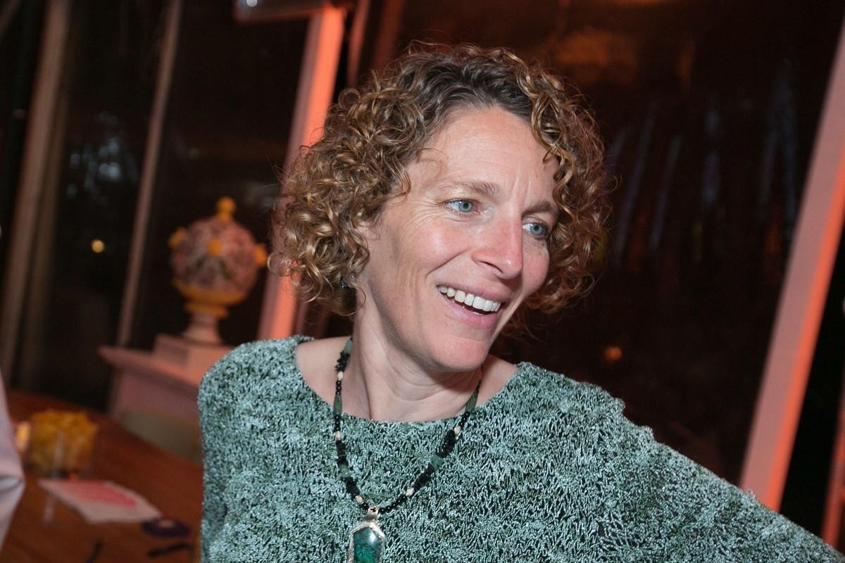 Dayna Baumeister, sócia e cofundadora da consultoria da Biomimicry 3.8 (Foto: Divulgação/Edu Lopes)