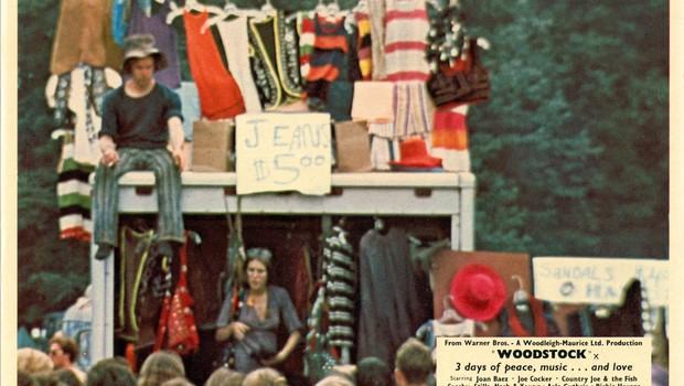 Woodstock, o maior festival hippie da história (Foto: Getty Images)