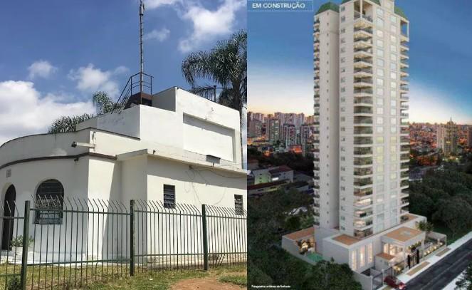 Prédio de 23 andares em obras ao lado do Mirante de Santana pode afetar medições da principal estação meteorológica de SP, diz Inmet