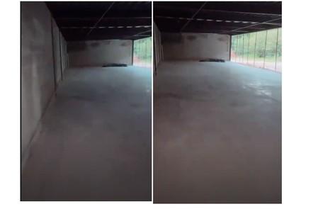 A garagem da mansão tem capacidade para 15 carros Reprodução