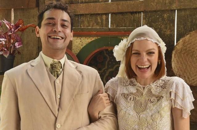 Eduardo Sterblich e Maria Eduarda de Carvalho (Foto: Divulgação/TV Globo)