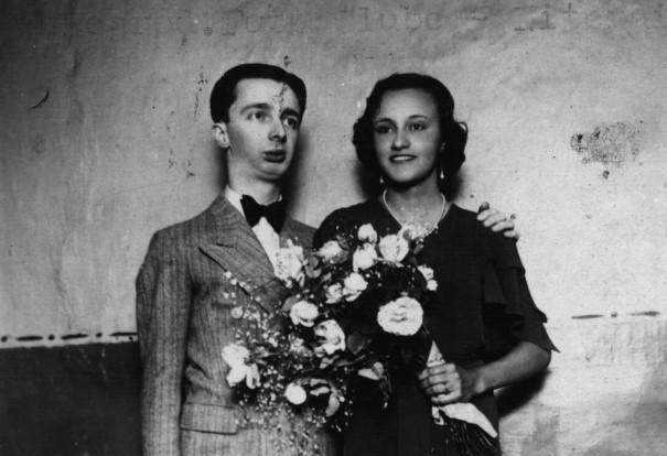 Noel Rosa e sua mulher, Lindaura, em dezembro de 1934