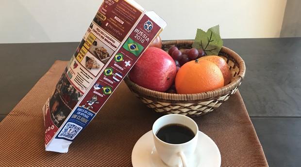 Saquinhos de pão personalizados para a Copa do Mundo (Foto: Divulgação)