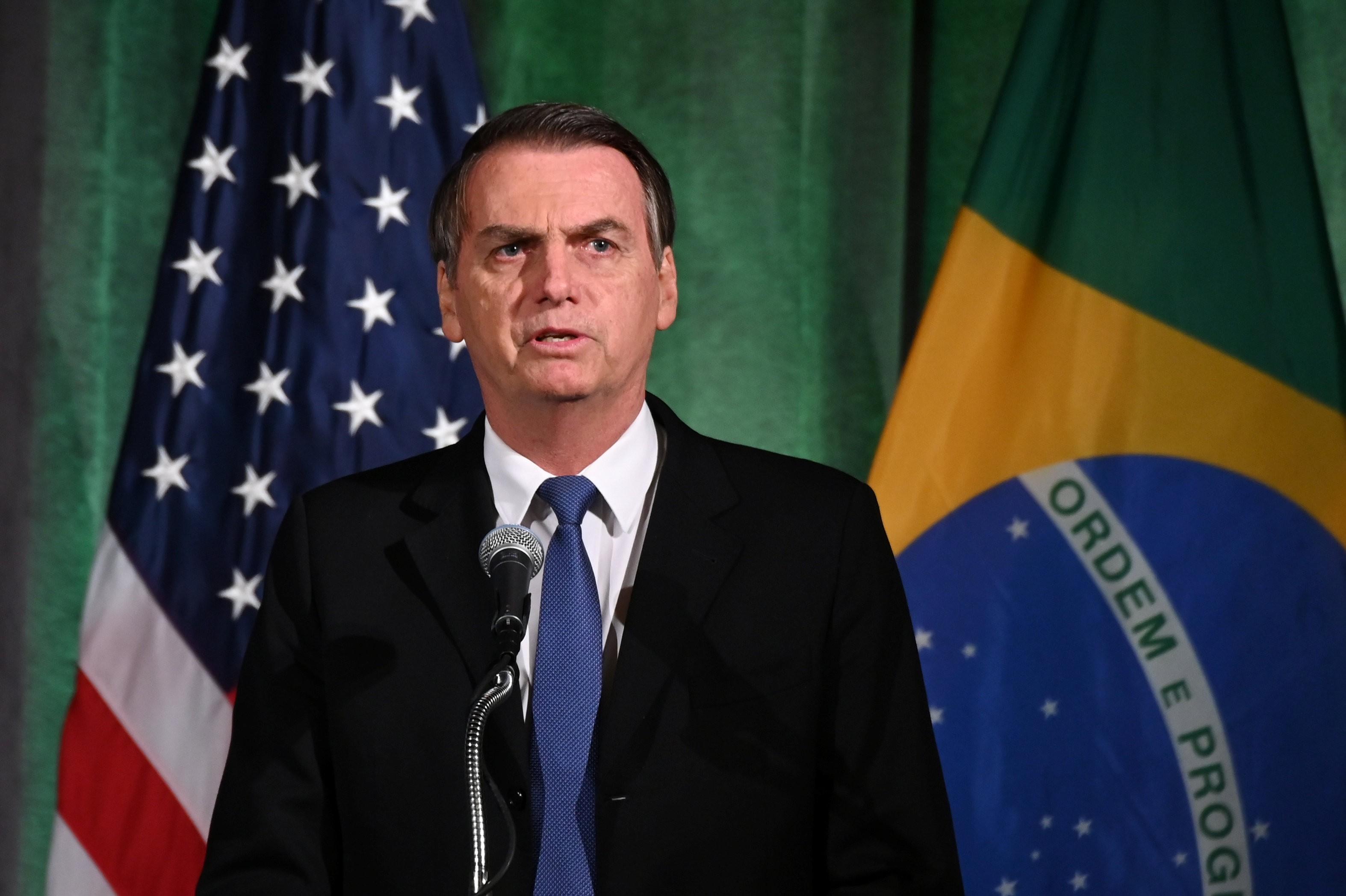 Bolsonaro nos EUA