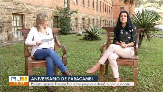 RJ1 entrevista prefeita de Paracambi - Parte 1