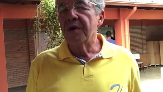 Após votar, Marco Aurélio Mello afirma que 'virtude está no meio termo'