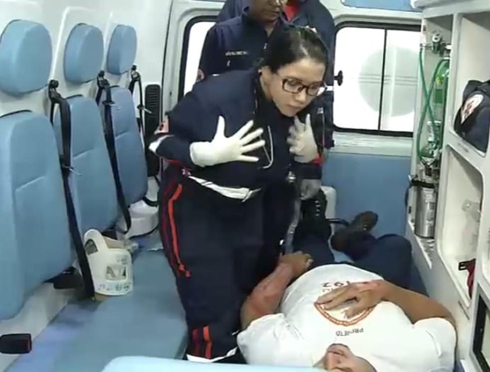 Profissionais de saúde aprendem libras para atendimento ao paciente surdo em Teresina — Foto: Arquivo pessoal