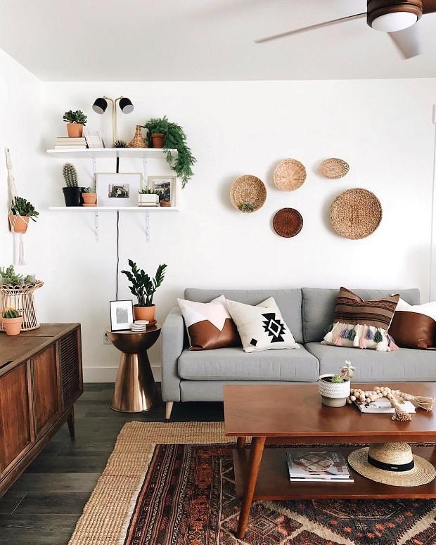 18 ideias para decorar uma parede vazia (Foto: Reprodução)