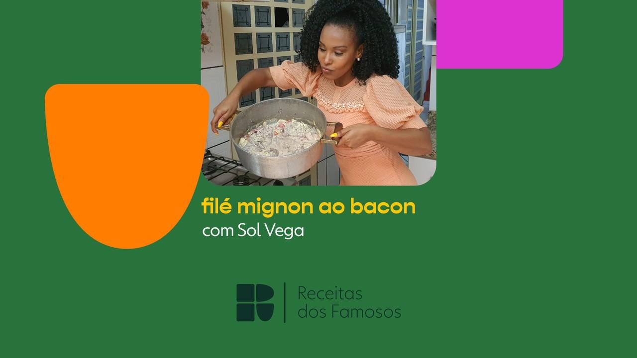 Sol Vega ensina a fazer filé mignon ao bacon