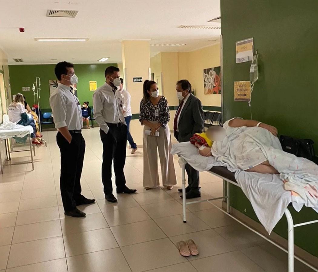 Ministério Público faz vistoria no Hospital Regional para analisar condições e estruturas de atendimento à população