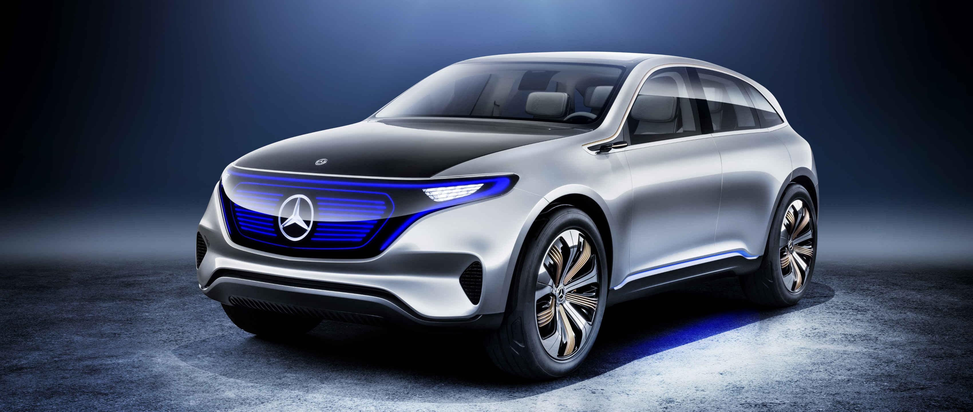 Mercedes EQ Concept (Foto: divulgação)