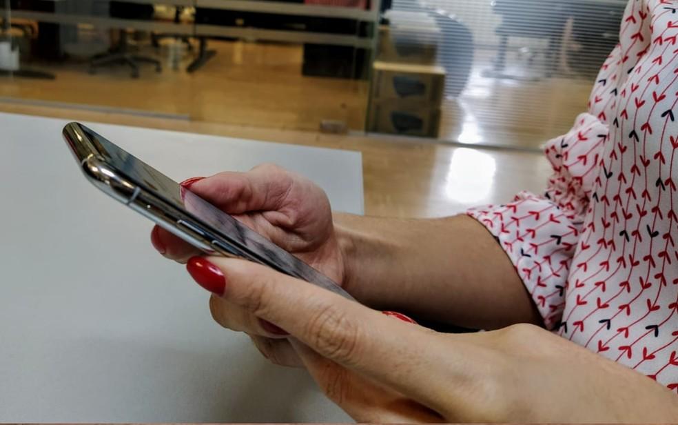 Projeto avalia possibilidade de votação por meio de celulares e tablets — Foto: Vanessa Martins/G1