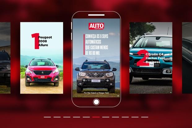 Web stories: 6 SUVs automáticos que custam menos de R$ 80 mil (Foto: Autoesporte)
