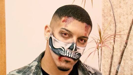 Meu Talento é Mais: conheça um  maquiador artístico