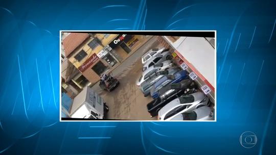 Policial é morto em Santa Margarida durante tentativa de assalto a bancos
