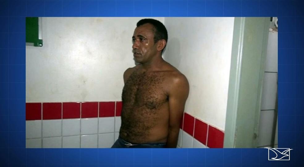 Edelson Silva Moraes já abusava da filha de 13 anos há 3 anos — Foto: Reprodução/TV Mirante