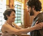Andrea Dantas e Chay Suede gravam cena de 'Amor de mãe' | Reprodução