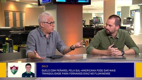 Redação Sportv debate sobre atuação do Fernando Diz no Fluminense