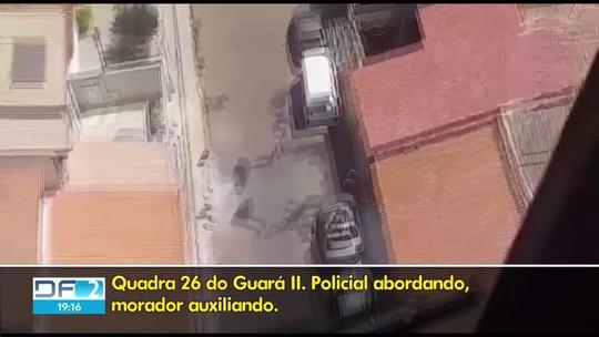 Polícia persegue bandidos no Guará II