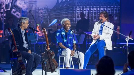 Gilberto Gil avalia sucesso duradouro de Roberto Carlos: 'Algo de outro mundo'