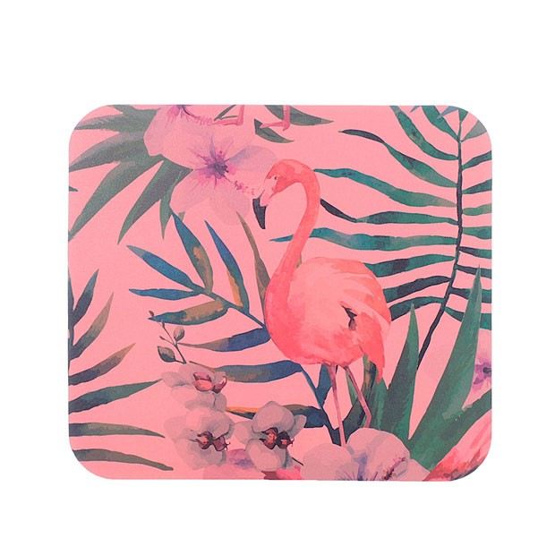 Mouse pad Flamingo, na Papel Craft, R$ 25