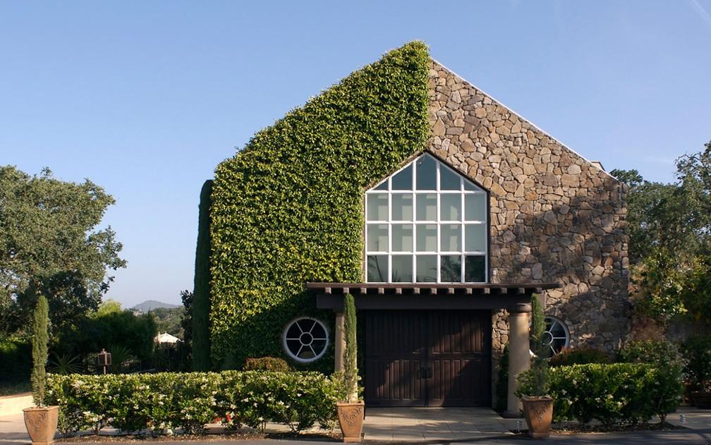 Fachada do prédio principal da vinícola Signorello, fundada em 1980, em Napa, na Califórnia (Foto: Reprodução/Facebook/Signorello Estate)