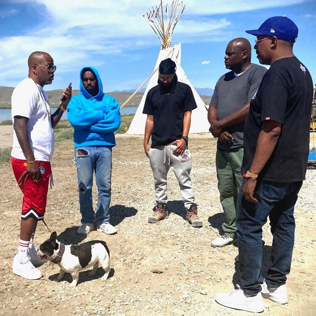 Kanye West se isola em rancho com amigos (Foto: Reprodução/Instagram)