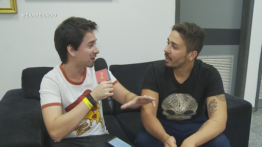 #Zapp: Andy Fonseca bate papo com humorista Carlinhos Maia