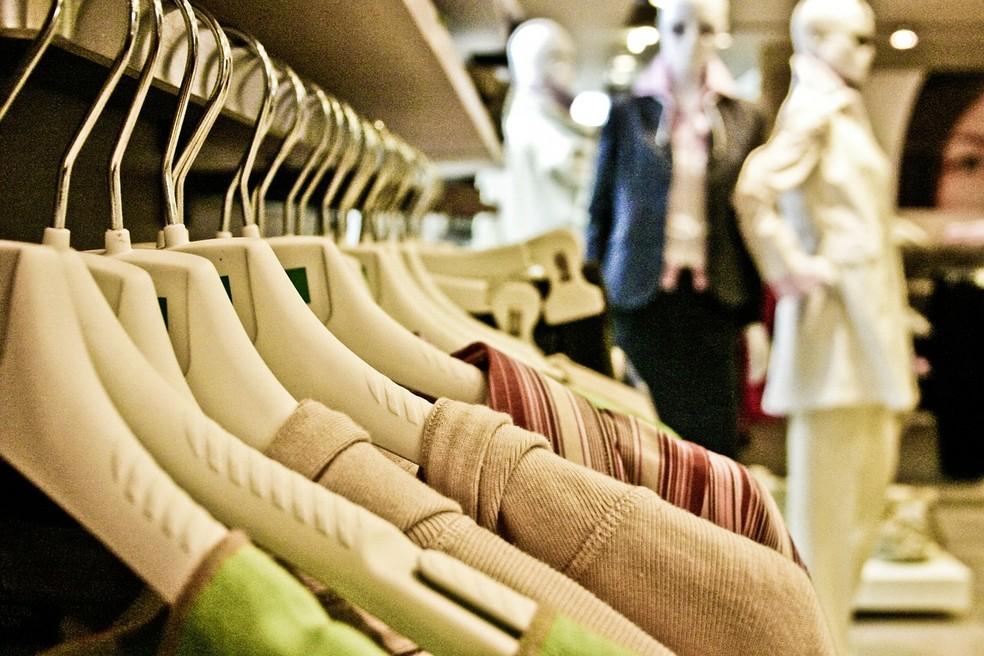 Compra de roupas terá maior procura após a pandemia — Foto: Pixabay