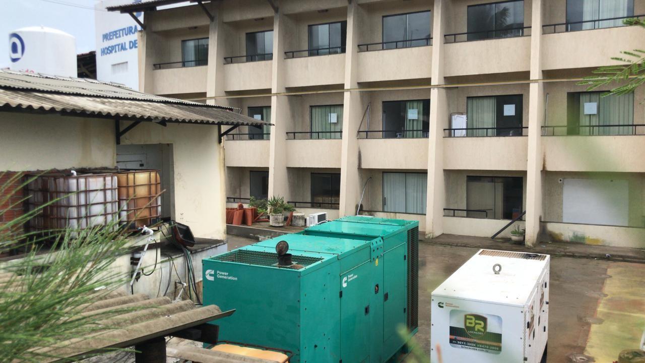 Após queda de energia, pacientes são transferidos do Hospital de Campanha de Natal