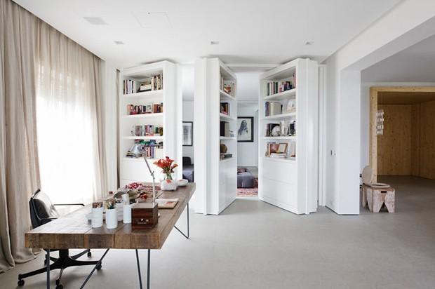 8 dicas para organizar estantes e livros