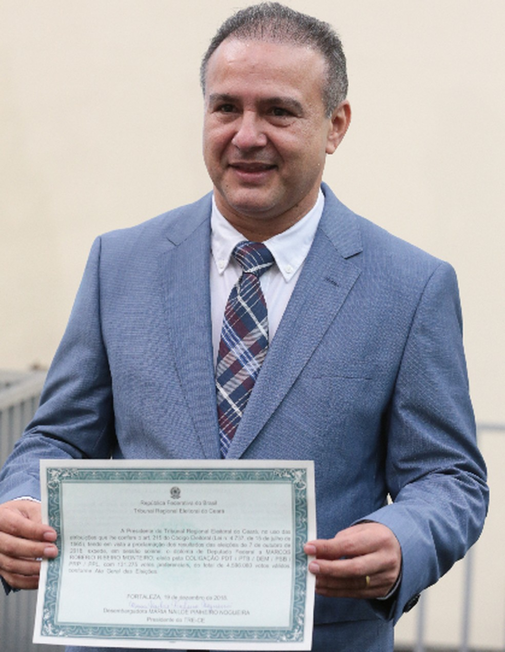 Deputado Robério Monteiro (PDT) — Foto: Saulo Roberto/SVM