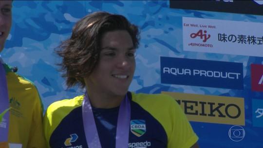 Ana Marcela conquista mais uma medalha para o Brasil no Pan-Pacífico
