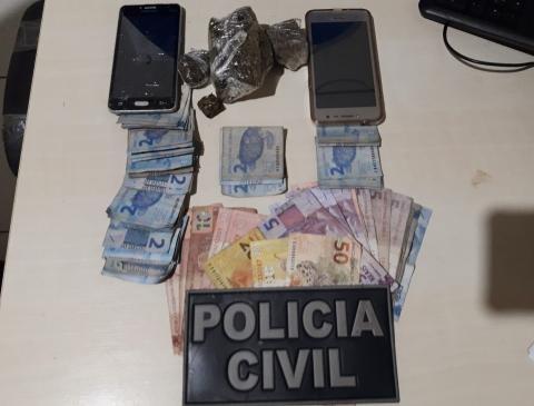 Polícia prende três pessoas por envolvimento com o tráfico de drogas e roubo, em Cametá, no Pará - Notícias - Plantão Diário